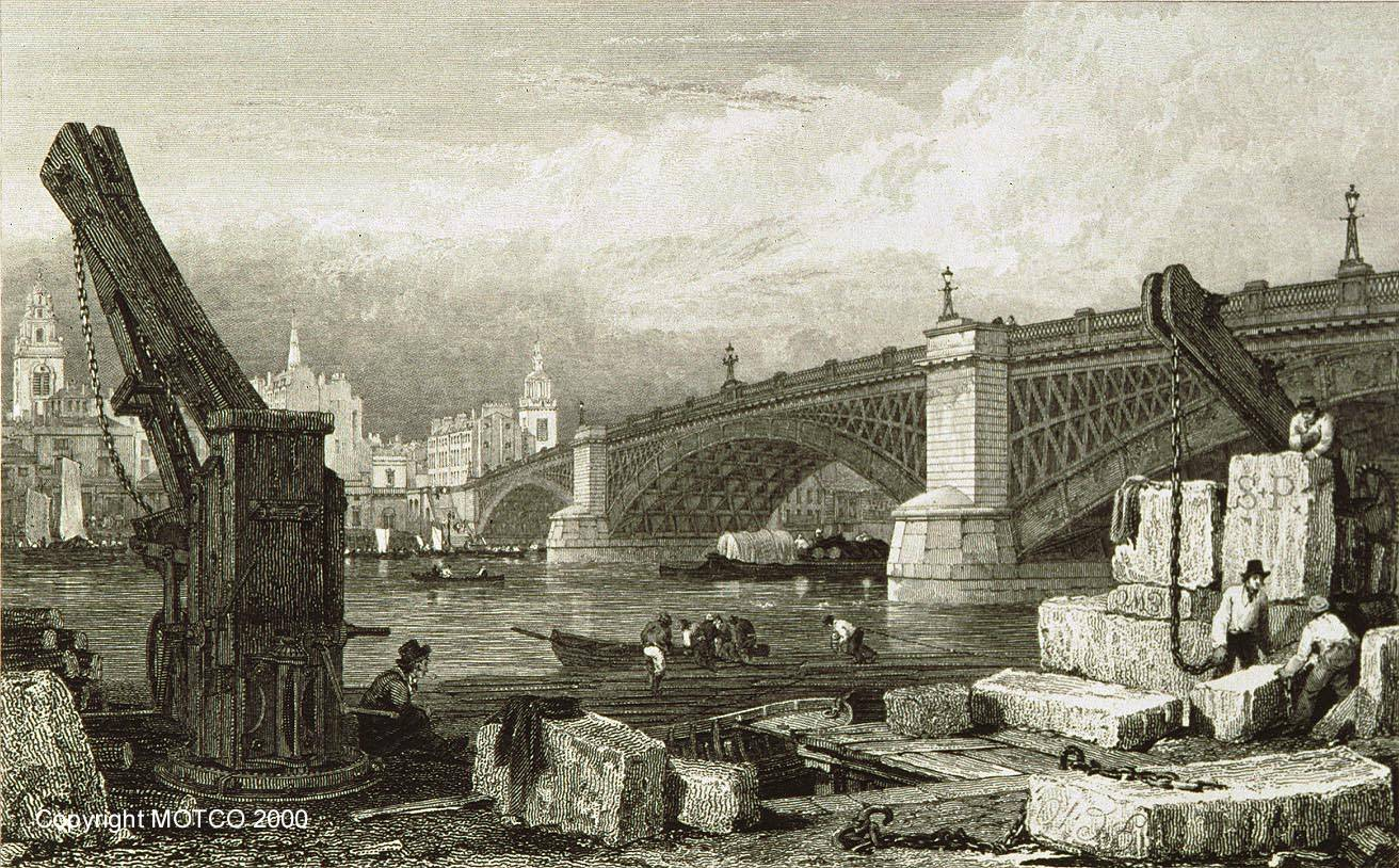 Southwark Iron Bridge 1828 © MOTCO